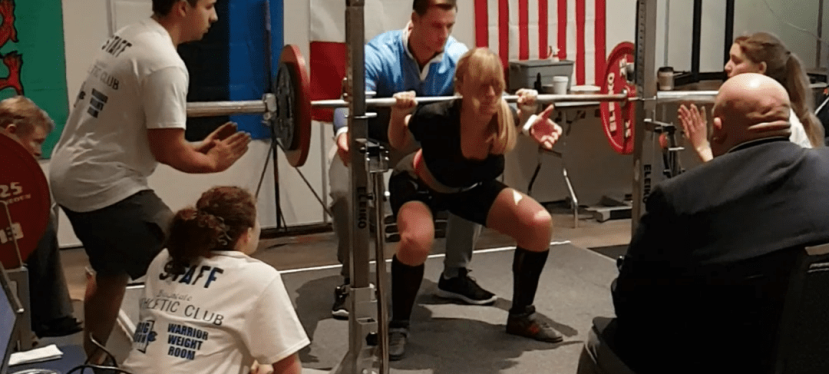 World Powerlifting Competition in Boston, USA