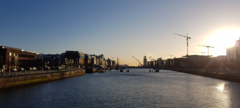This Morning in Dublin – Heute Morgen in Dublin